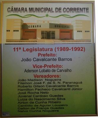 Câmara Municipal de Corrente