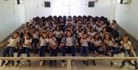 Câmara recebe a visita de alunos do colégio São José