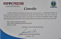 Com apoio do MP, Câmara de Corrente inaugura 'PROCON CÂMARA' na segunda, 18