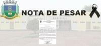 Nota de pesar pela morte de Euza Mascarenhas, mãe do prefeito de Corrente, Murilo Mascarenhas