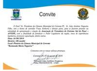 Solenidade de criação da AVESPI será realizada nesta sexta-feira (16), em Corrente