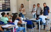 Vereadores visitam escolas da rede municipal em Corrente